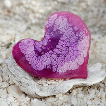 Resin Small Heart Coaster #801