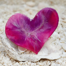 Resin Small Heart Coaster #806