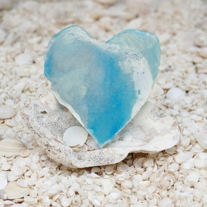 Resin Small Heart Coaster #8015