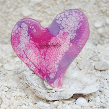 Resin Medium Heart Coaster #8202