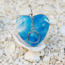 Resin Heart Key Ring Keychain #5001