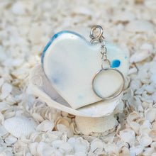Resin Heart Key Ring Keychain #5005