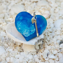 Resin Heart Key Ring Keychain #5008