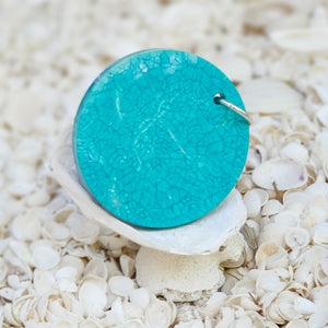 Resin Round Key Ring Keychain #50053