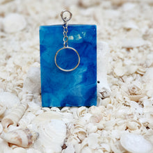Resin Rectangle Key Ring Keychain #5355