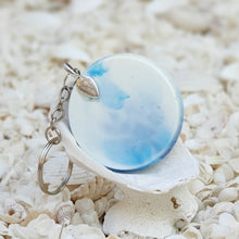 Resin Round Key Ring Keychain #5655