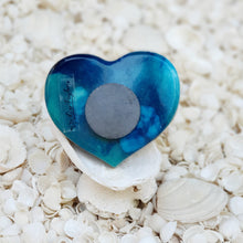 Resin Heart Fridge Magnet #2002