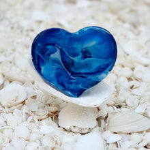 Resin Heart Fridge Magnet #2007