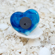 Resin Heart Fridge Magnet #20012