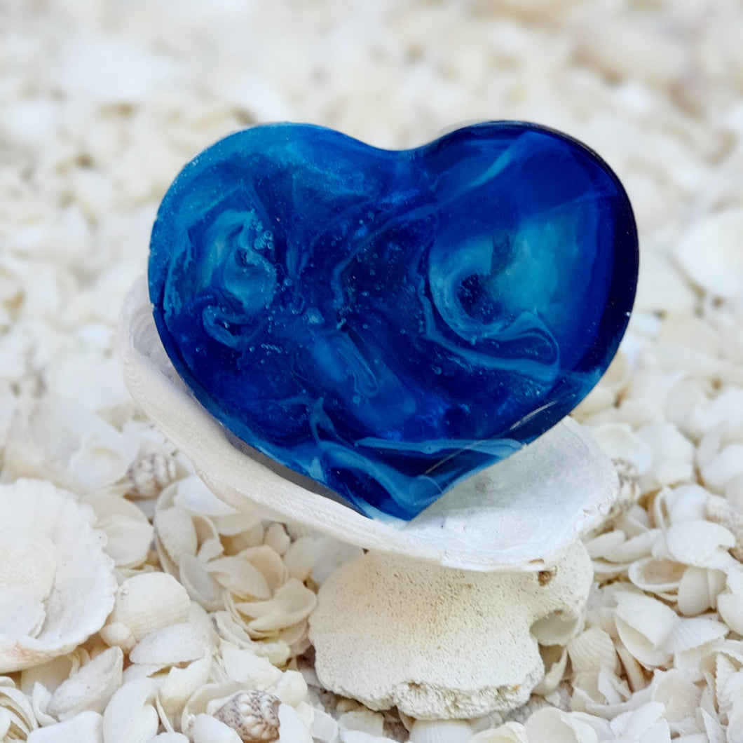 Resin Heart Fridge Magnet #20014