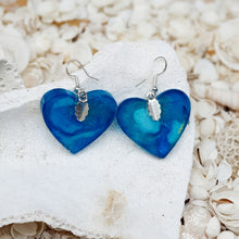 Resin Heart Earring #3003