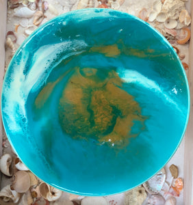 Resin Turntable Turquoise #1002
