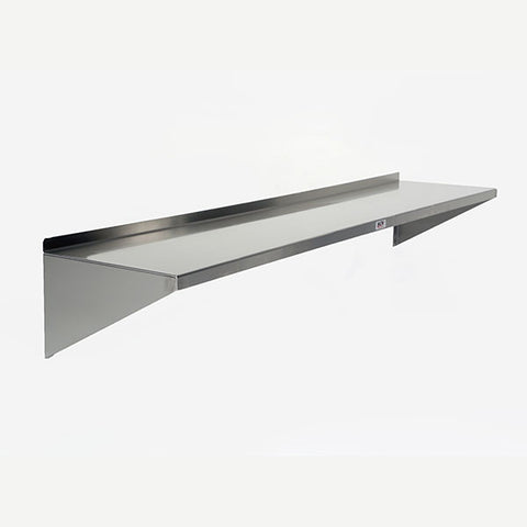 "15"" Deep Stainless Steel Wall Shelf"