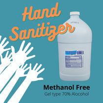 Hand Sanitizer Premium Gel 70%  Ethyl Alcohol  , Methanol FREE 1 Gallon
