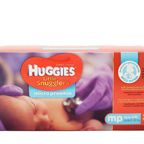 Huggies Micro Preemie Little Snugglers Unisex Up to 4LB Box 0f 30