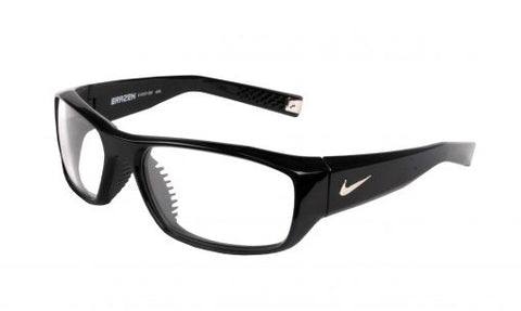 INFAB Nike Brazen Lead Glasses Comfort and Lightweight Durability, Nylon Fame and Ventilated Nose Bridge -