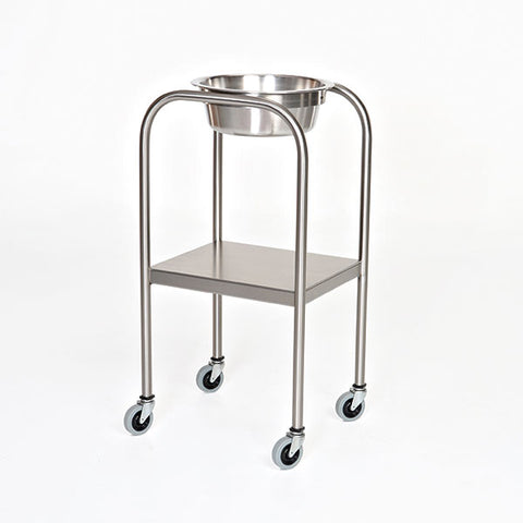 Stainless Steel Single Bowl Ring Stand