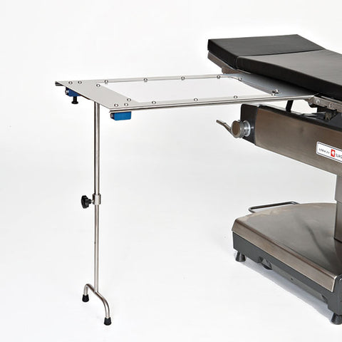 Under Pad Mount Arm and Hand Surgery Table W/Double Leg