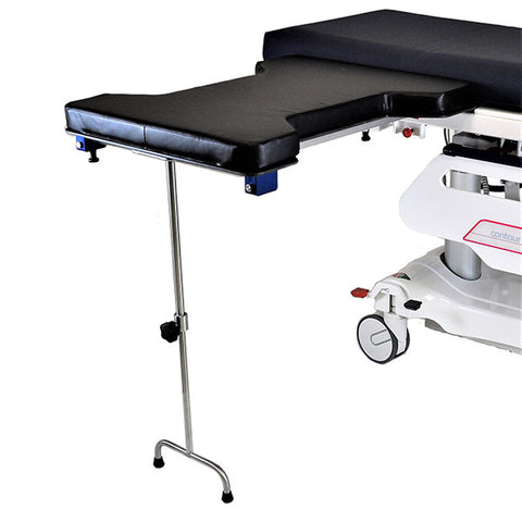 Underpad Mount Phenolic Hourglass Surgery Table W/Double Leg
