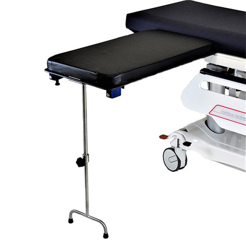 Underpad Mount Phenolic Rectangle Surgery Table W/Single Leg