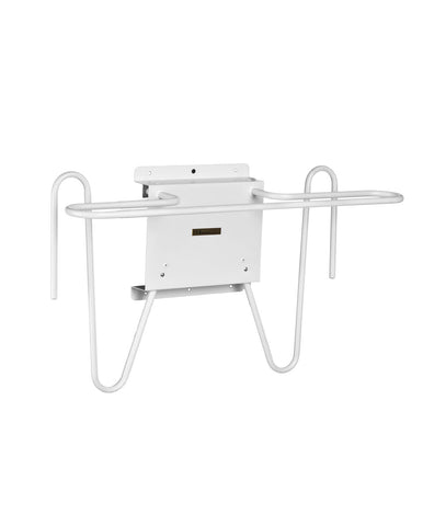 INFAB Wall Mounted Apron and Glove Combo Lead Apron Rack - Mounts Quickly and Easily -
