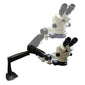 Z4 Zoom System Stereo Microscope on Dual LED pole stand,  LW Scientific