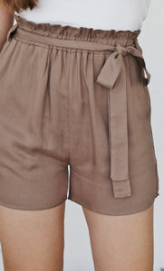 """OIA"" FRONT TIE SHORTS"