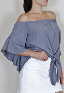 """LAYLA"" OFF THE SHOULDER BLOUSE"