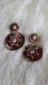 MULTI COLORED EARRINGS