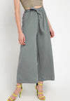 Mineola Basic Tie Belt Cotton Culotte