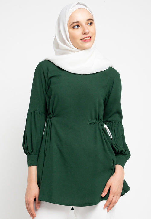 Plain Tunic Muslim Blouse