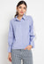 Mineola Long Sleeve Brukat Shirt Blue