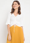 Mineola Rope Under Blouse White