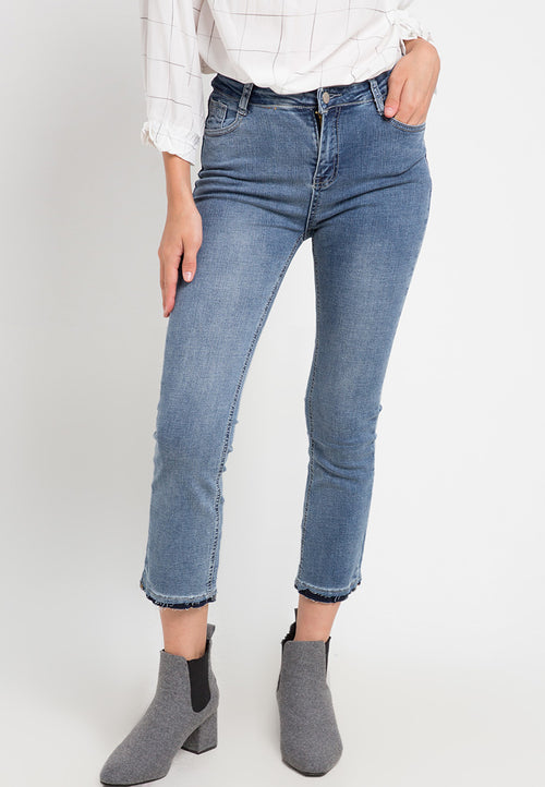 Mineola Boot Cut Denim Blue