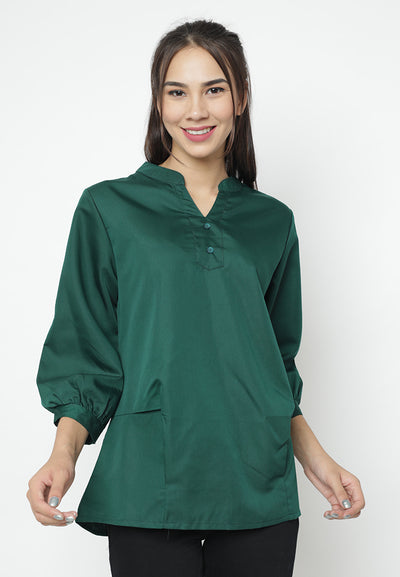 Mineola Cotton Long Sleeve Top