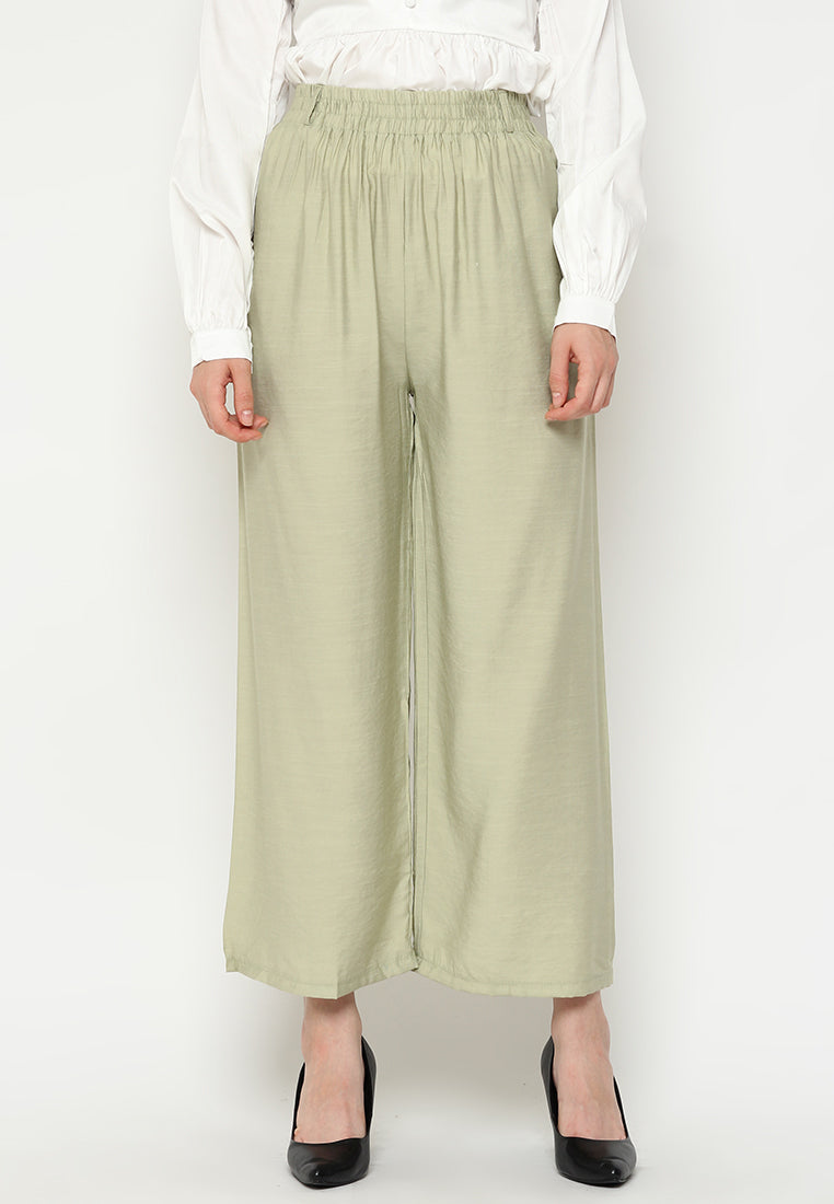 Mineola MNL Cotton Culotte Pants With Belt String