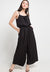 Mineola Strappy Jumpsuit Black