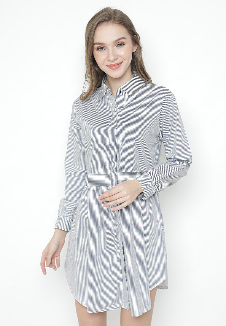 Mineola Cotton Stripe Dress