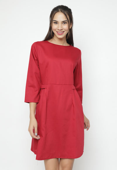 Mineola Cotton Midi Dress