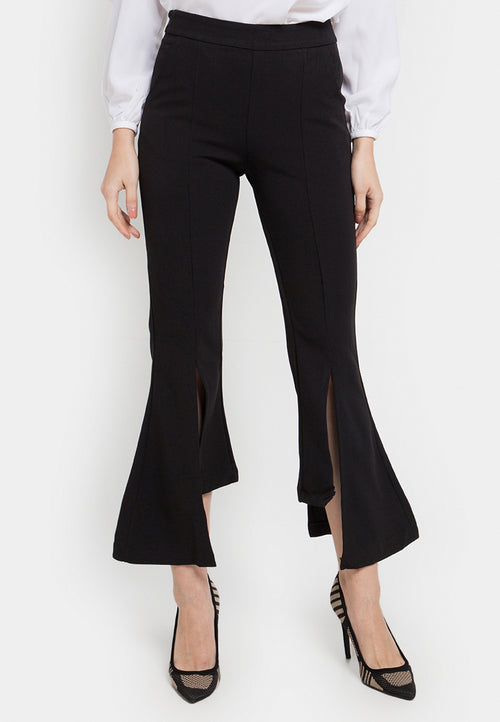 Stretch Flared Boot Cut Pants