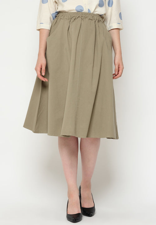 Mineola MNL Long Flared Skirt