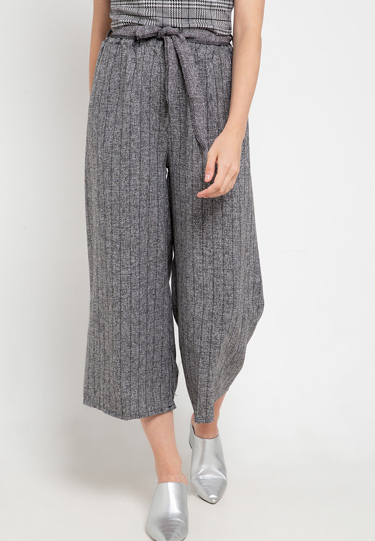 Stripped Track Culottes