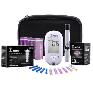 Bruno MD6 Welcome Ketone & Glucose Kit 10