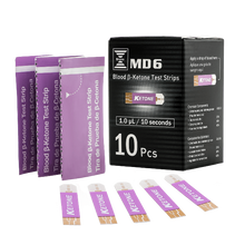 Load image into Gallery viewer, Bruno MD6 5 Boxes of 10 Ketone Strips