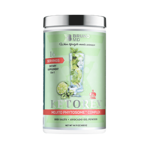 KETOREX MOJITO BHB + AVOCADO OIL POWDER 400g