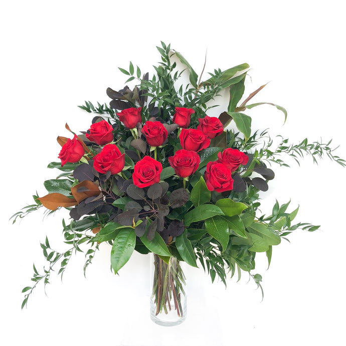 PASSION - Choose your dozen of RED ROSES