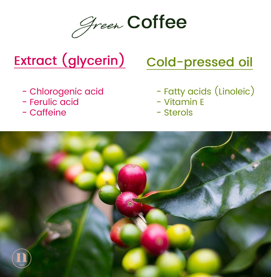 Native Essentials Skincare Green Coffee extraction