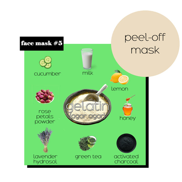 Diy Gentle Peel Off Face Masks Ideas For Smooth And Clear