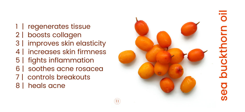 Native Essentials Skincare Sea Buckthorn oil benefits