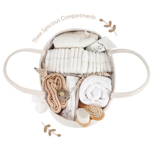 baby rope diaper caddy